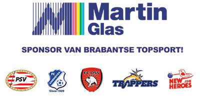 Martin Glas: Sponsor van Brabantse topsport!